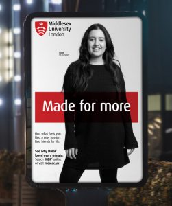 Get qualified in Marketing at Middlesex University