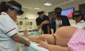Middlesex: first university in the UK to invest in augmented reality midwifery equipment